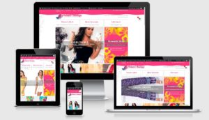 Melanies Boutique ecommerce works on all devices 001