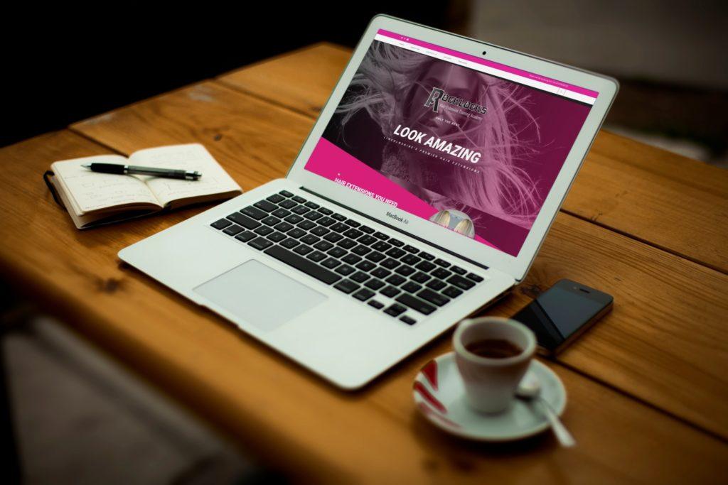 RockLocks Hair and Beauty Website Design