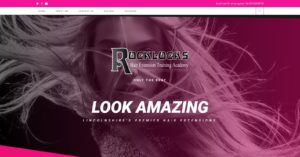Hair Extension WordPress Website Design